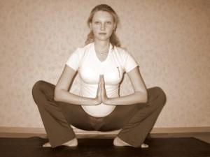 Йога для беременных: комплекс упражнений 2