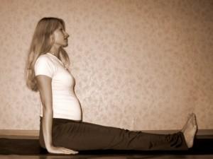 Йога для беременных: комплекс упражнений 5