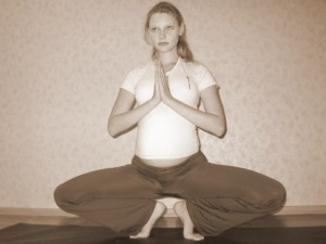 Йога для беременных: комплекс упражнений 1