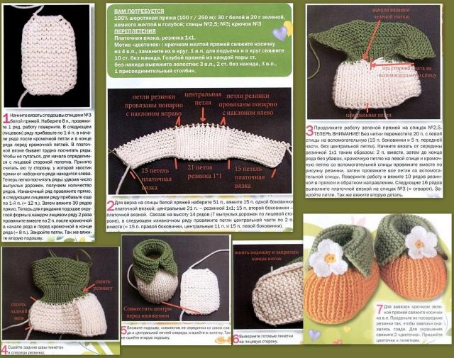 Вязание спицами для детей 3