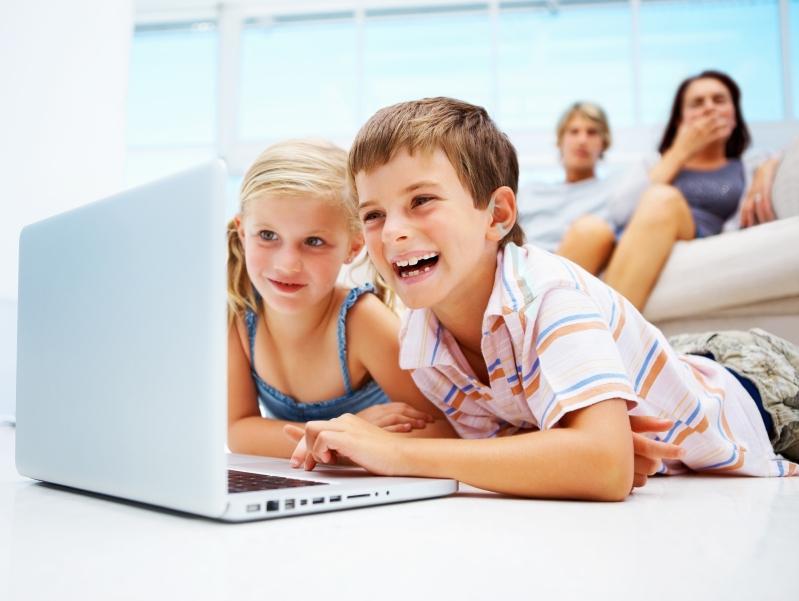 Дети и комп фото