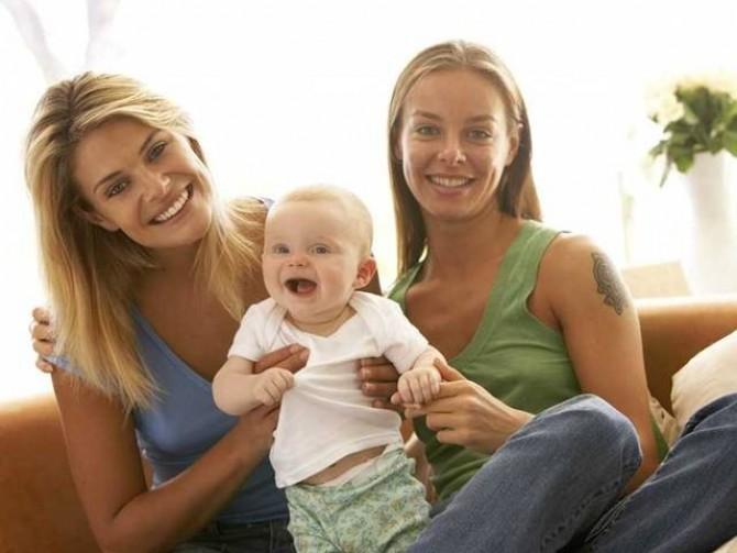 Мамы с дочками лесби