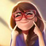 Рисунок профиля (Анютка)